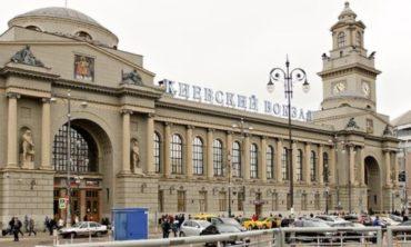 Киевский вокзал иего знаменитая часовая башня