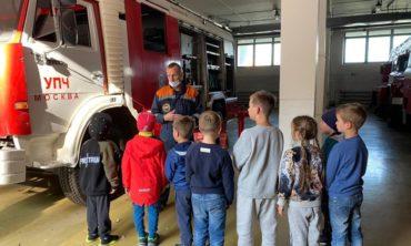 В гости к пожарным,7-12 лет МЕСТ НЕТ