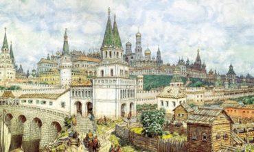 Прогулка «Башни Кремля», 5-6 лет
