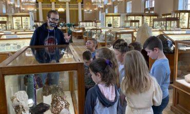 """Экскурсия """"Знакомьтесь: минералы!"""" в Минералогическом музее, 7-9 лет"""