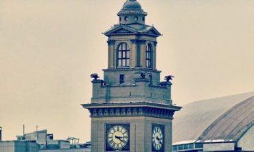 Семейная экскурсия по Киевскому вокзалу с подъёмом на часовую башню, 7+