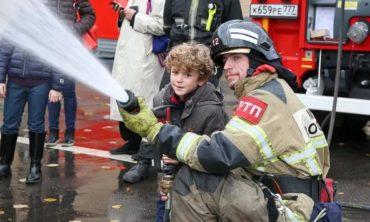 Я пожарным стать хочу!